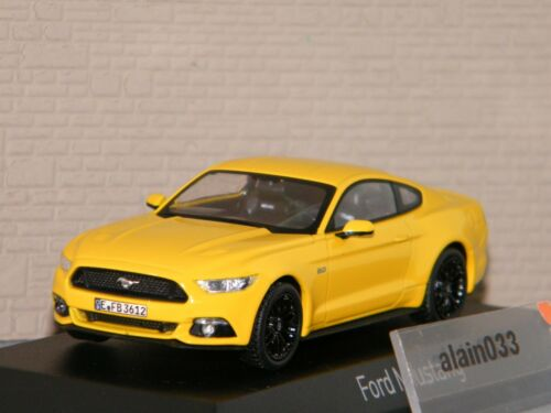 FORD MUSTANG 2015 Yellow NOREV 1//43 Ref 270554