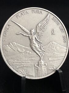 2018-MEXICO-1-oz-999-SILVER-LIBERTAD-ANTIQUED-FINISH-FREE-SHIPPING