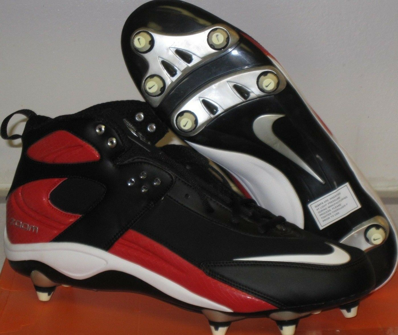 NIKE AIR ZOOM BLADE PRO MEN'S FOOTBALL CLEATS SIZE 11