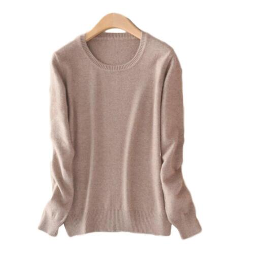 Sweater Tops Spring Women Autumn Knitted Cashmere Long Sleeve Jumper Pullover