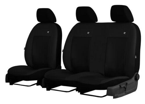 VOLKSWAGEN VW T5 2+1 2003-2015 ECO LEATHER TAILORED SEAT COVERS MADE TO MEASURE