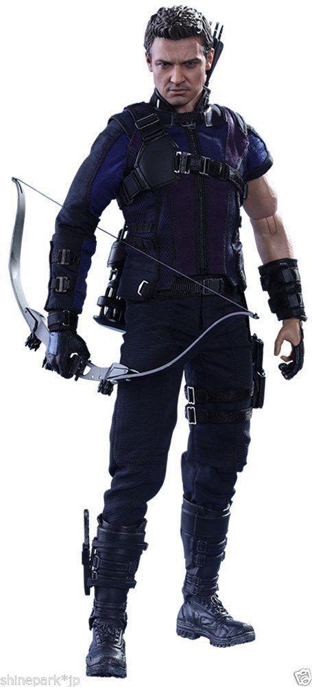 Desde Japón Hot Juguetes Movie Masterpiece capitán América Hawkeye 1 6 de la guerra civil