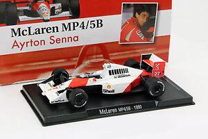 Ayrton-Senna-McLaren-MP4-5B-27-Champion-du-monde-Formule-1-1990-1-43-Altaya
