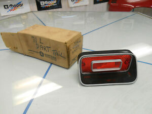 1971-1973-Dodge-Dart-Left-Side-Tail-Light-Lens-NOS-MOPAR-PN-3621679-W-Orig-Box