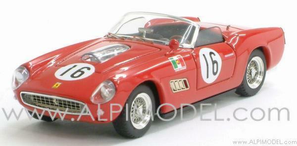 Ferrari 250 Spider California Sebring 1960 Serena - Scarlatti 1 43 Art 116
