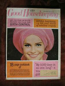 GOOD-HOUSEKEEPING-Magazine-September-1965-Linda-Darnell-Mary-Stewart-Hugh-Cave