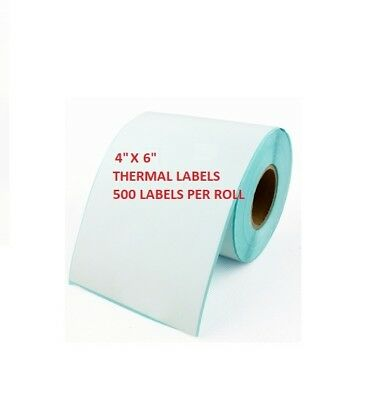 101.6mm x 152.4mm Direct Thermal Labels 5,000 Labels Zebra compatible