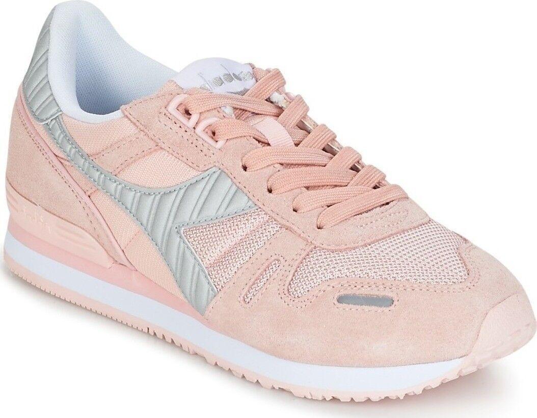 DIADORA 160825-50178 TITAN II Wmn's (M) Veiled-Pink Suede/Nylon Lifestyle Shoes
