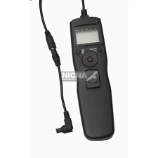 New Timer Remote Control for Canon EOS 7D 5DII 5DIII 5D 40D 40D removable cord