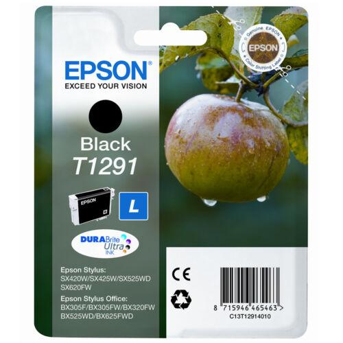 Echt Epson Apple Serie Schwarz Drucker Tintenpatrone T1291//C13t12914010