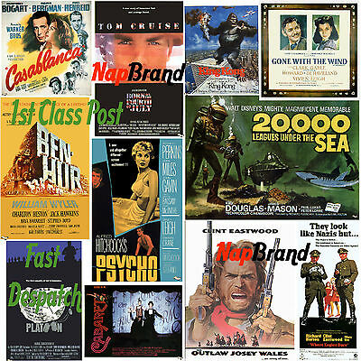 17 000 Vintage Classic Old Movie Posters /& Autographs Images CD Craft Decoupage