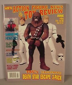 Action Figure News Toy Review Price Guide Magazine 56 Star Wars Mcfarlane Ebay