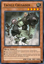 3x Tackle Crusader - LVAL-EN043 - Common - 1st Edition YuGiOh NM LVAL - Legacy o