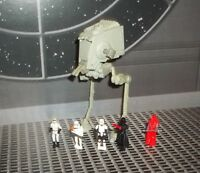 STAR WARS ACTION FLEET BATTLE PACK #2 IMPERIAL FORCES AT-ST SCOUT WALKER +5 FIGS