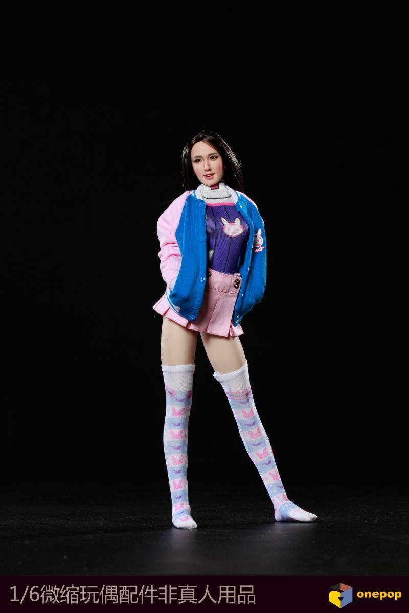 1 6 sexy COSPLAY e-sports baby Dress suit For 12  Female Doll