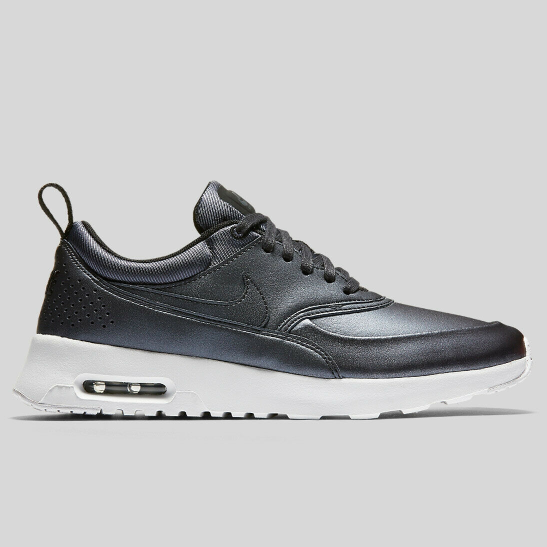 New Max Nike Women's Air Max New Thea SE Shoes (861674-002)  Metallic Hematite cf4ab6