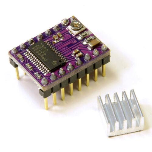 DRV8825 moteur stepper module Driver 3D Printer StepStick RepRap 4L pour Ardu Jh