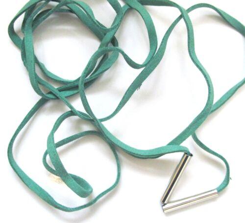 Boho Faux Suede Ribbon Choker Long Wrap Around Festival Bow Tube 5 Varieties