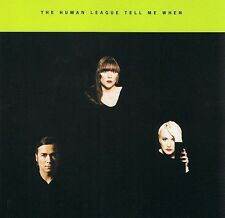 THE HUMAN LEAGUE Tell Me When CD Single East West YZ882CD1 1994