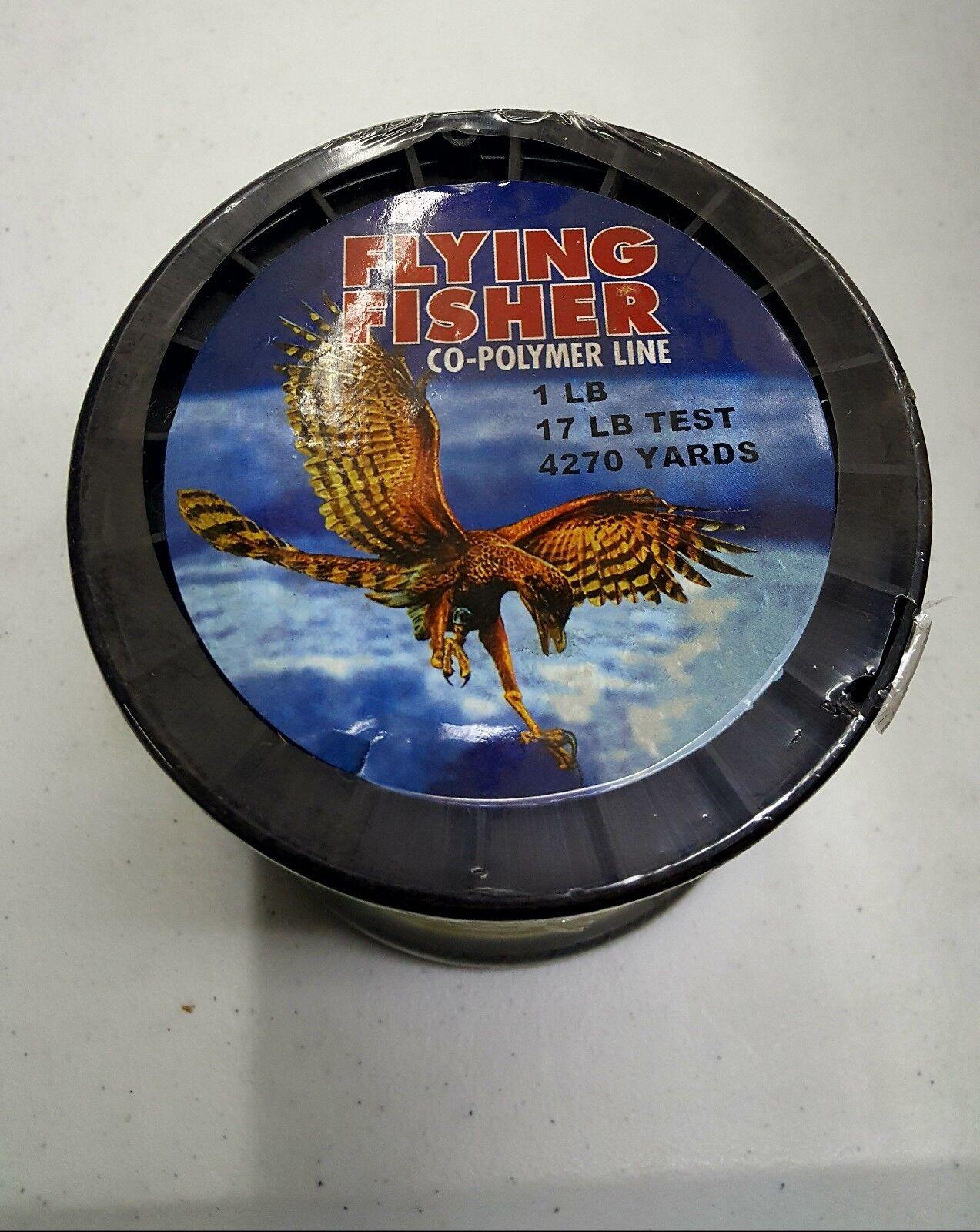 17 libra 4270 Metros Flying  Fisher Copolímero Línea De Pesca  Mejor precio