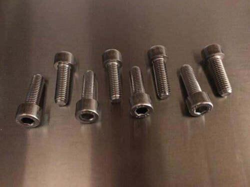 SUZUKI GSR600 K6-L0 2006-2010 EXHAUST MANIFOLD HEADER BOLTS STAINLESS STEEL