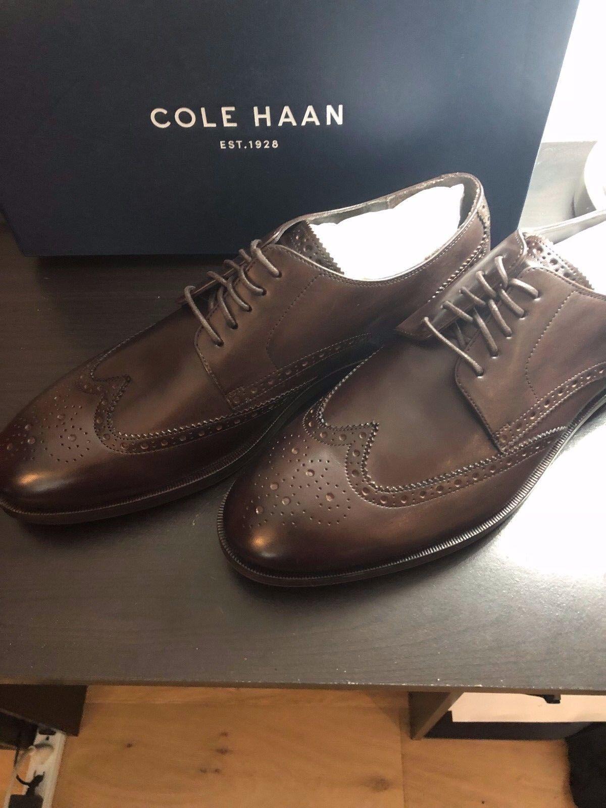 New Cole Haan Dark Brown Harrison Grand