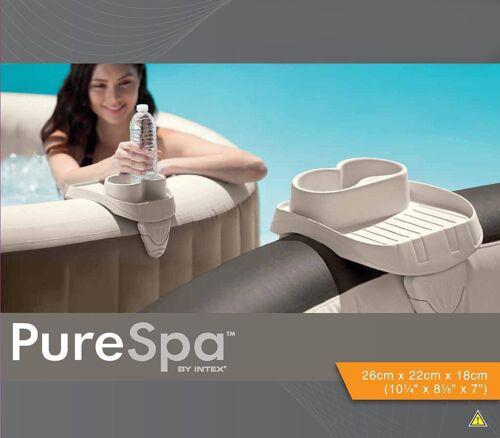 Ablage Intex 28500 Ablagetablett mit Getränkehalter für Pure Spa Whirlpools