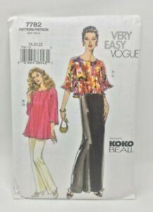 Vogue-Patron-de-Costura-7782-Misses-Pequena-Arriba-Dress-Camisola-y-Pantalon-18