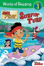 World of Reading: Jake and the Never Land Pirates Surfin' Turf: Level 1