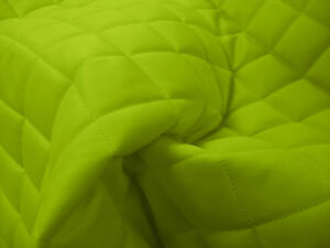 QUILTED-FABRIC-Waterproof-UK-Manufactured-Outdoor-Jacket-Upholstery-Flo-GREEN