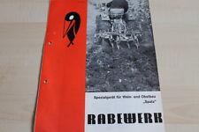 144131) Rabewerk Spezialgerät Wein- Obstbau - Spatz - Prospekt 05/1972