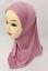 Muslim-One-Piece-Children-Hot-Drilling-Pearl-Floral-Bead-Hijab-Islamic-Scarf-Cap thumbnail 43