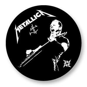 Lot Pack Magnet Aimant Frigo Ø38mm Metallica Heavy Thrash Metal USA