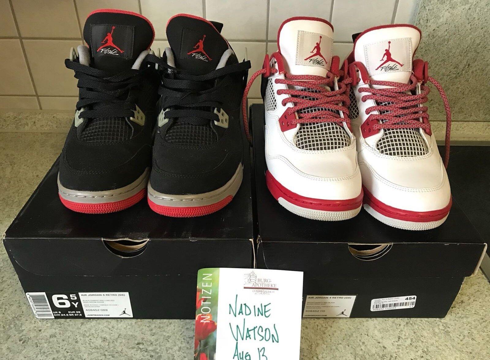 Nike Jordan 4 Fire ROT 5.5