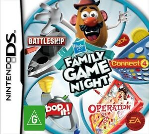 Hasbro-Family-Game-Night-4-Classic-Games-For-Nintendo-DS-NDS-Lite-DSi-3DS-2DS