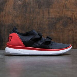 cccee58000b8 Nike Air Sock Racer Ultra Flyknit Chile Red Black-Grey 898022-600 ...