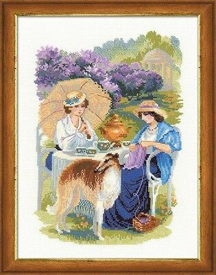 Counted Cross Stitch Kit RIOLIS - THE RUSSIAN COUNTRY ESTATE. THE LILAC