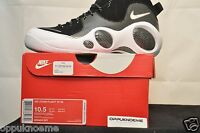 New Nike Air Zoom Jason Kidd 95 Retro Flight White Black 806404 001 sz 10.5 SE