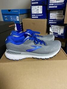 Brooks-Mens-Adrenaline-GTS-20-Gray-Blue-Running-Shoes-Size-8-M-383