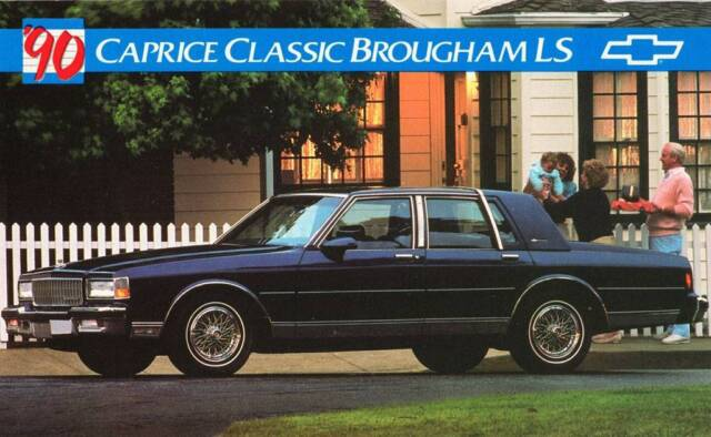 old print 1990 chevrolet caprice classic brougham ls auto advertisement for sale online ebay old print 1990 chevrolet caprice classic brougham ls auto advertisement