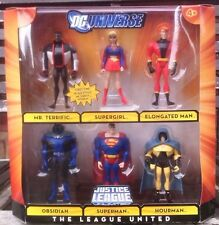 "DC UNIVERSE JUSTICE LEAGUE UNLIMITED ""THE LEAGUE UNITED"" SIX FIGURE PACK"