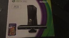 Microsoft Xbox 360 Slim Model 4GB Console- Kinect, Controller, New Condition!
