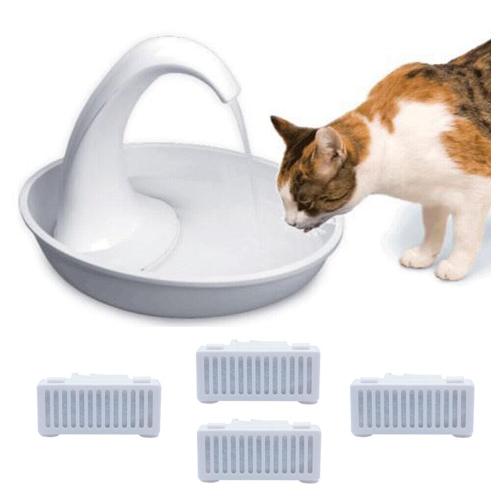 Trinkbrunnen SWAN Pioneer Pet für Katzen kleine Hunde  2,3l USB + Ersatzfilter