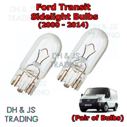 Ford Transit Van Front Sidelights Parking Lights Side Light Bulb Bulbs 00-14