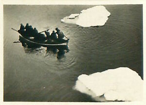 LZ-127-Graf-Zeppelin-Boat-of-Malygin-Icebreaker-Arctic-trip-AIRSHIP-CARD-30s