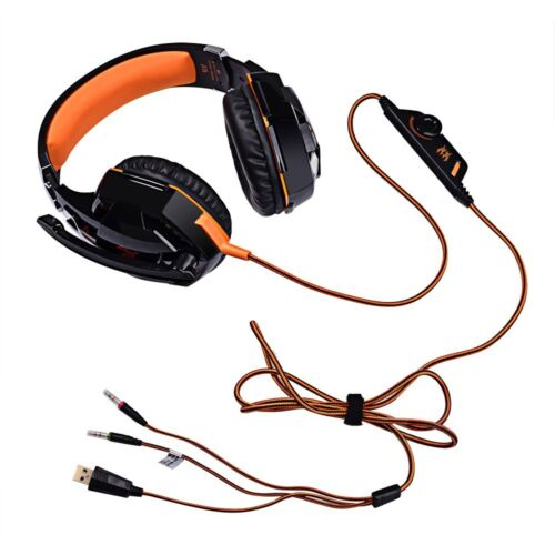 LED 3.5mm Mic Gaming Stereo Surround Headset Headphone For Xbox ONE 360 PS4