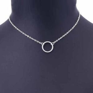 Kreis-Halskette-Open-Circle-Minimal-Rund-Gold-Silber-Filigran
