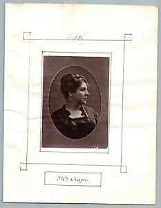 France-Paris-Theatre-Mlle-Agar-Vintage-print-Marie-Leonide-Charvin-dite-Aga