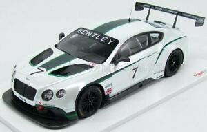TRUESCALE 1/18 BENTLEY   CONTINENTAL GT3 GOODWOOD FESTIVAL OF SPEED 2013   WH...