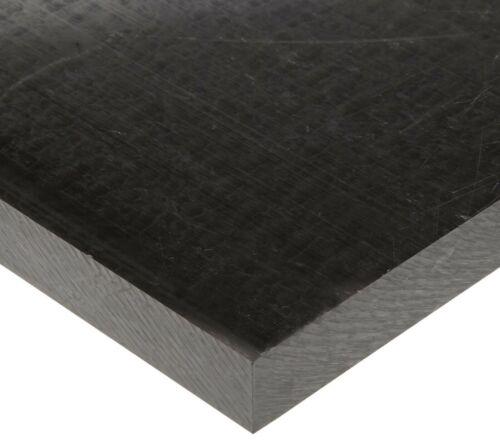 "3//8/"" Black Delrin Block Acetal Sheet 8/""x8.5/"" Cnc Millstock Plastic 8066"